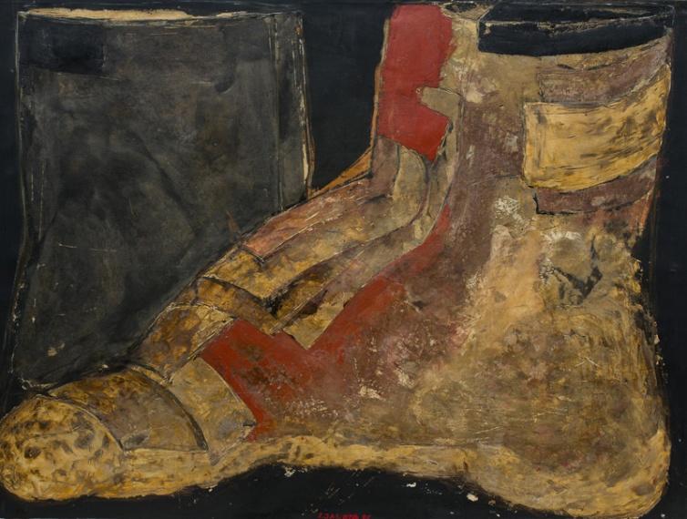150x200 sand on canvas 1988
