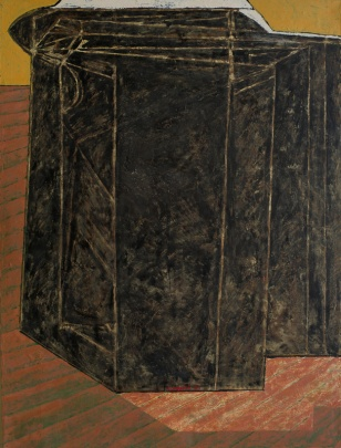 200x150 encaustic on canvas 1988