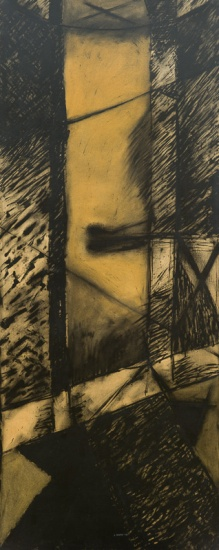200x90 kt. on paper 1981